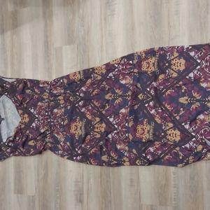 Beautiful Multi colored maxi dress